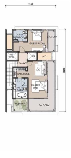 B1 Second Floor